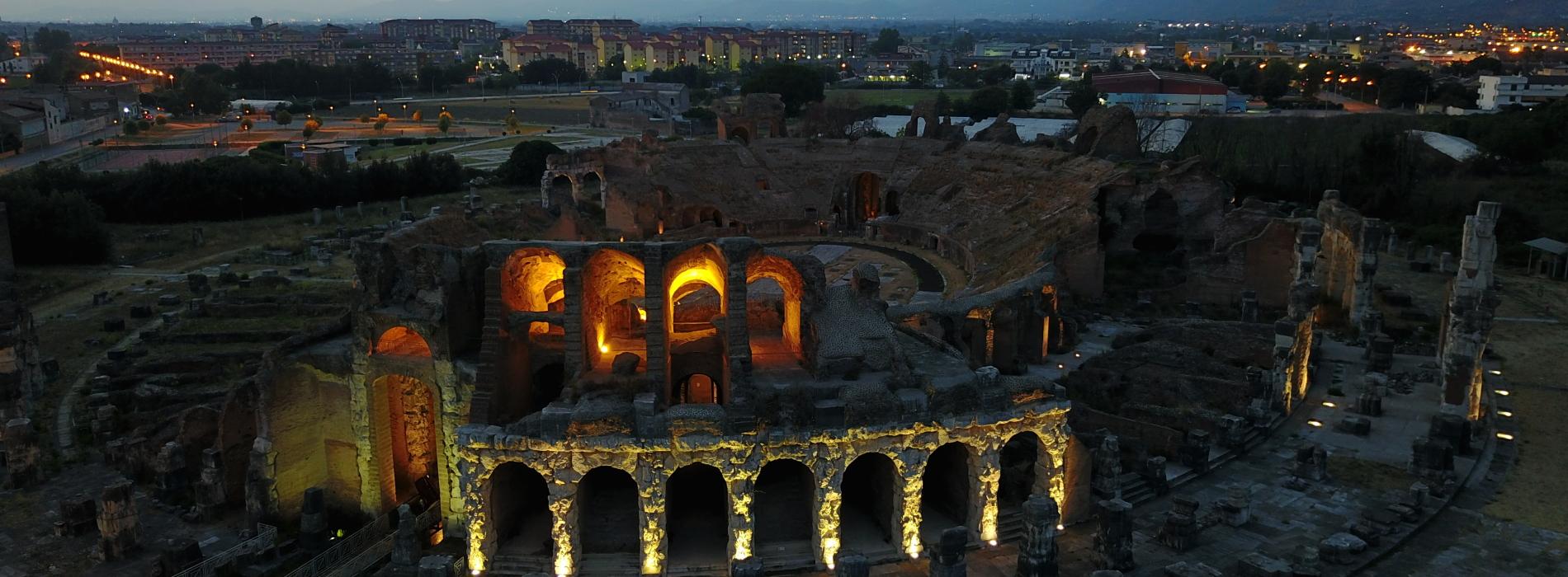 """Bella di notte, visite ed eventi nei """"labirinti"""" dell'Antica Capua"""