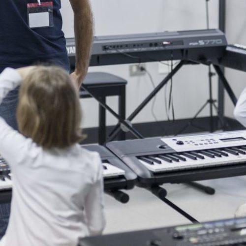 """""""La cetra di Achille"""", i laboratori dell'Accademia Yamaha"""