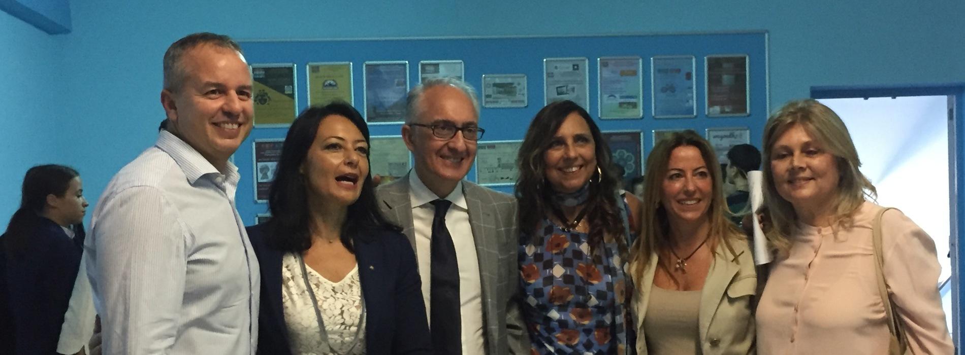 Caserta, Fortini e Palmeri inaugurano il nuovo anno scolastico