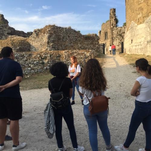 Visite al Borgo di Casertavecchia con gli studenti della Vanvitelli