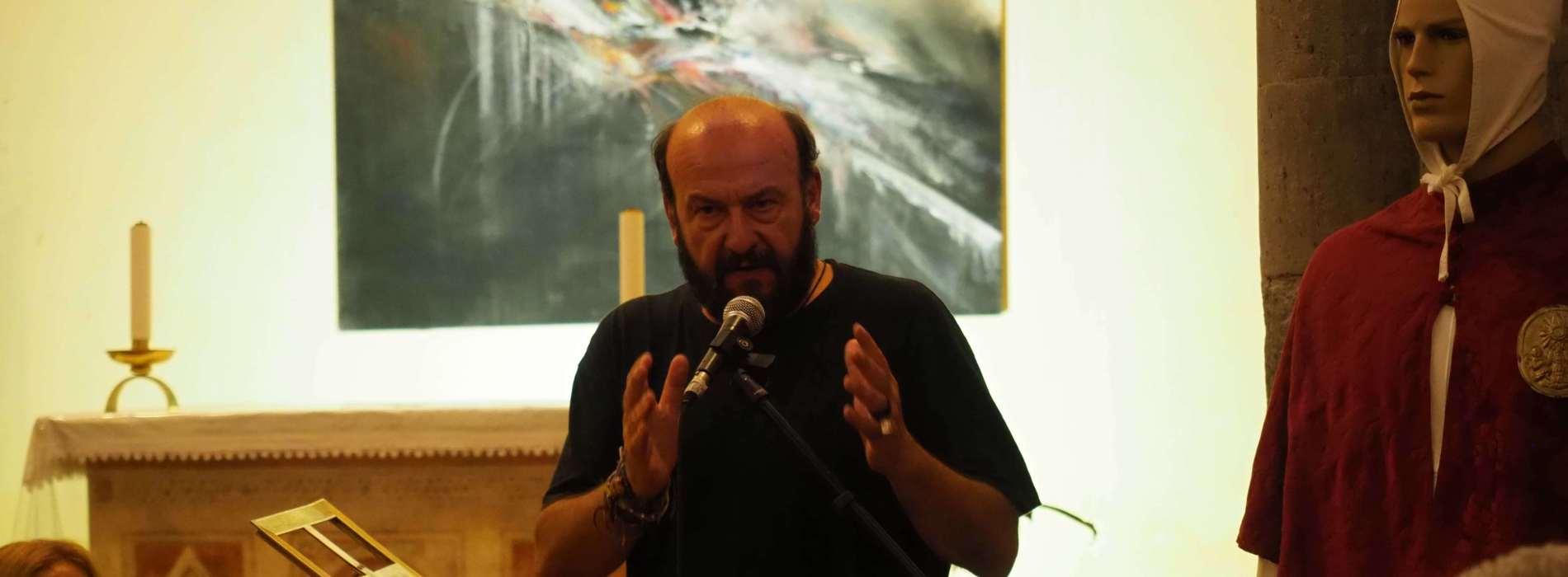 Davide Rondoni e l'Infinito di Leopardi per Un borgo di Libri