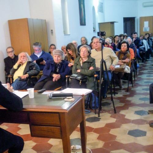 Incontro di Lucia Monaco alla Canonica, parola di casertana