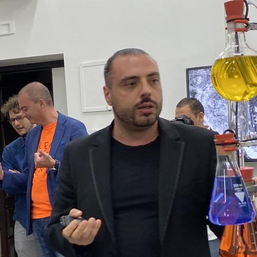 Nicola Pedana Caserta, l'apocalisse arriva nella galleria d'arte