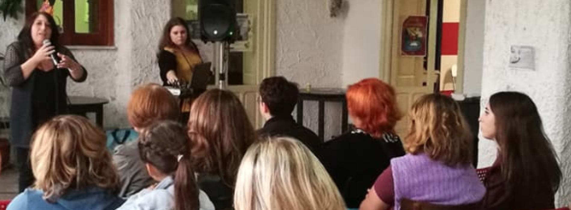 """Il Salotto di Alterum, Letizia Vicidomini e la signora """"nessuno"""""""