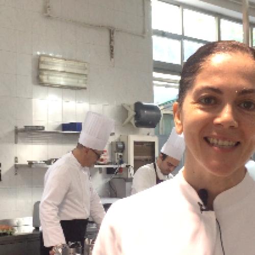La chef Rosanna Marziale e il suo progetto per le scuole