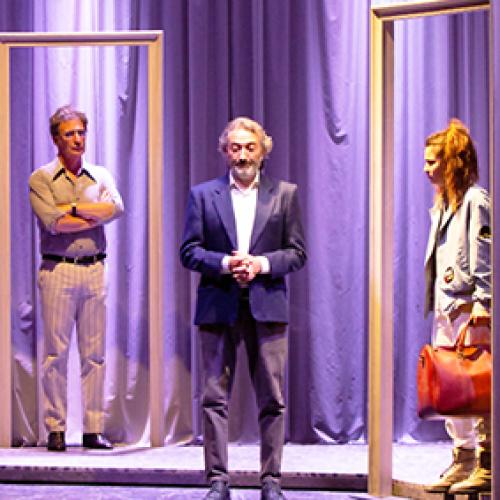 Il tempo è veleno, lo sostiene Tony Laudadio al Teatro Nuovo