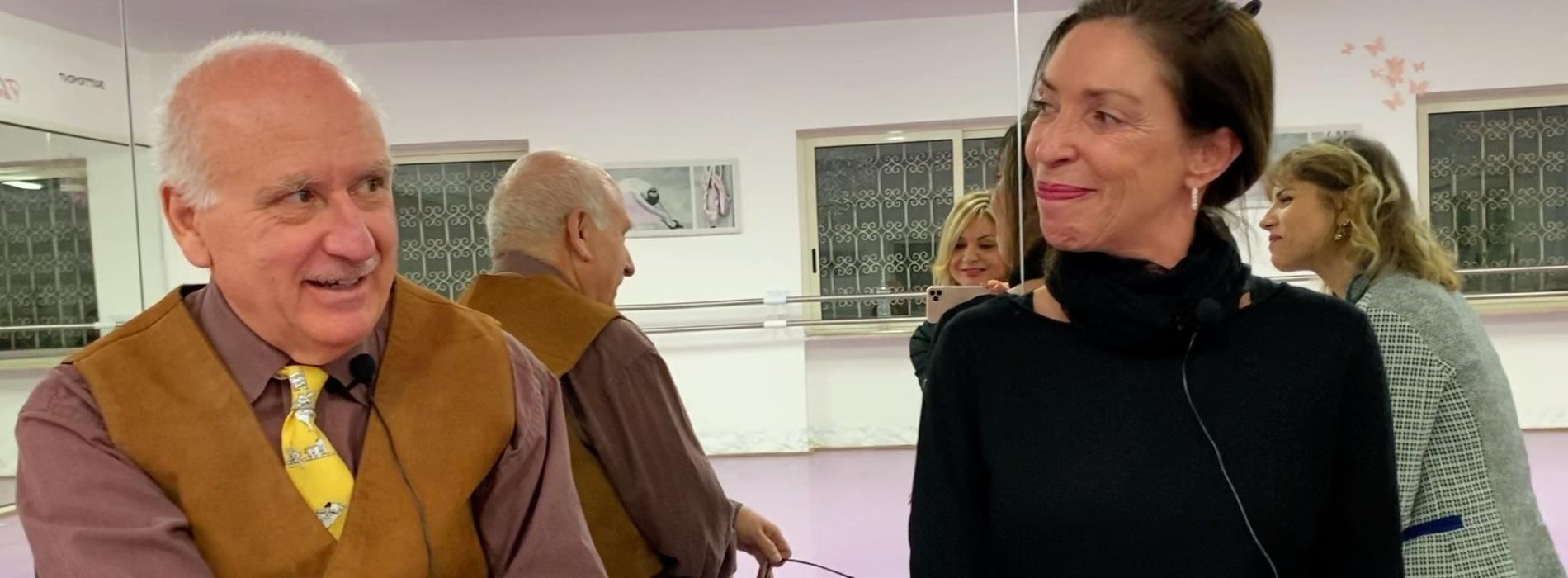 Nicoletta Pizzariello e Vinicio Colella al More Dance Studios
