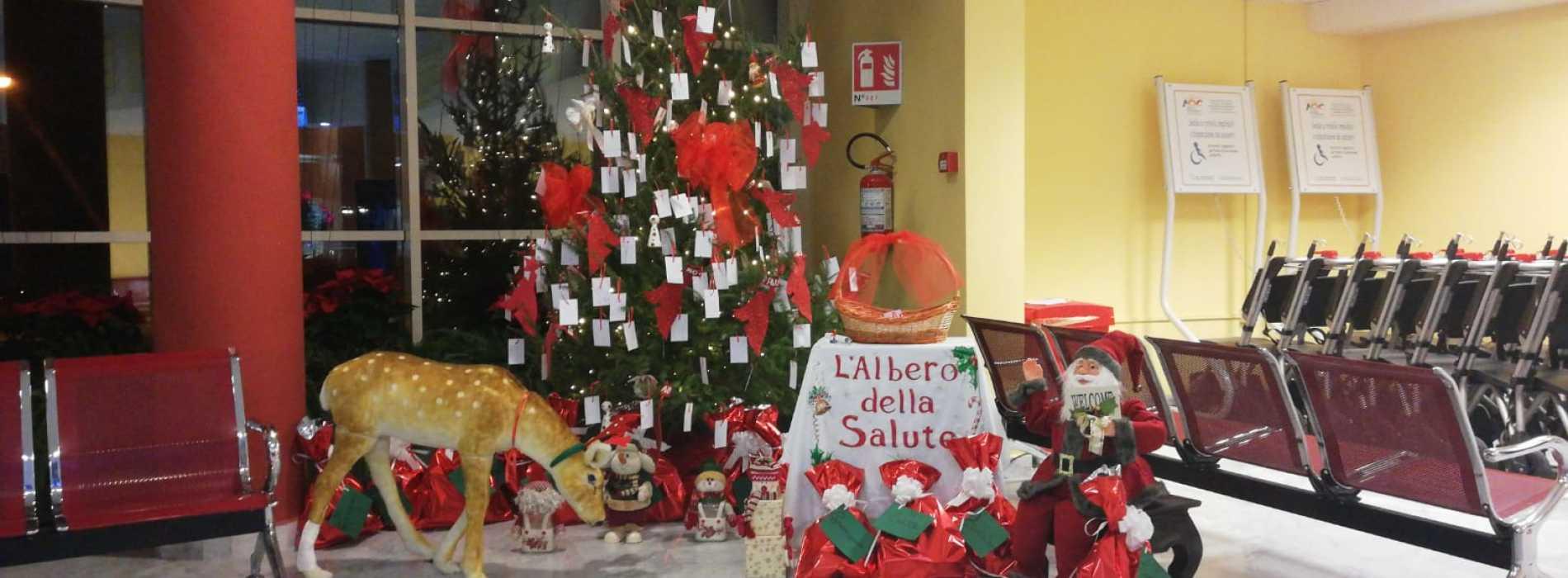 Ospedale Caserta, Natale di desideri con l'Albero della Salute