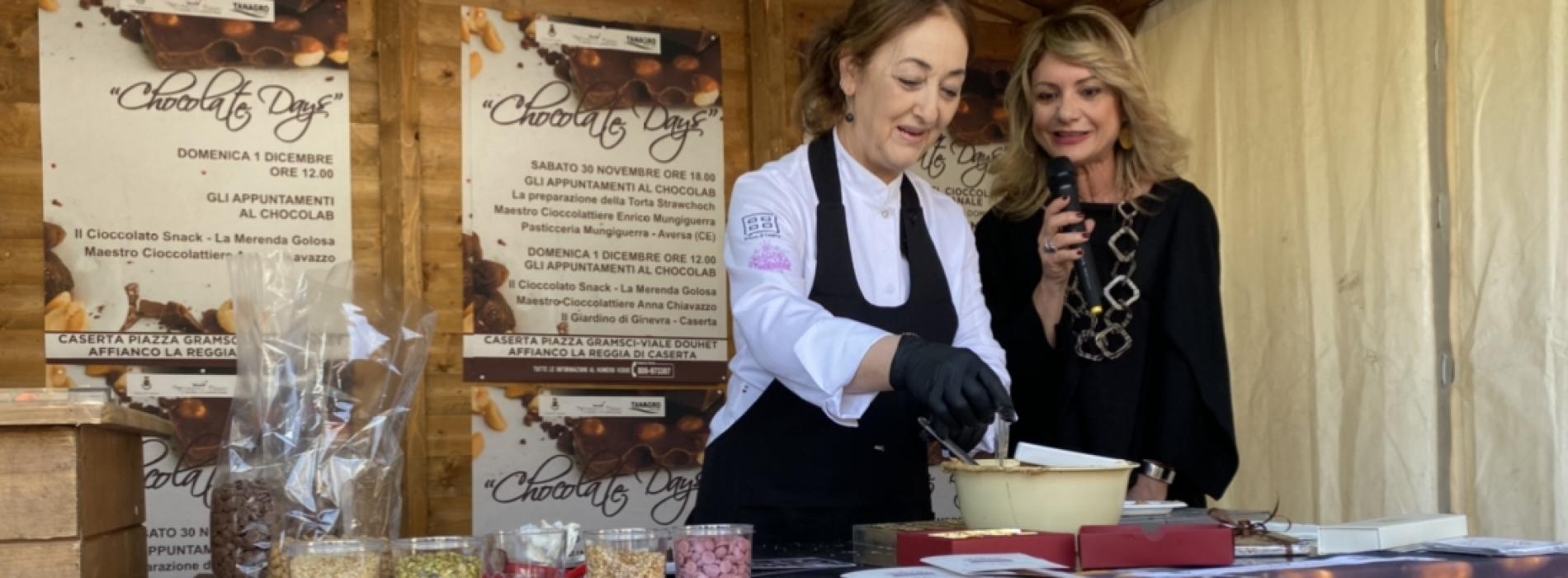 Festa del cioccolato, il Natale a Caserta si apre con dolcezza