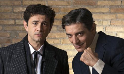 Vinicio Marchioni e Giuseppe Zeno ospiti de Il Salotto a Teatro