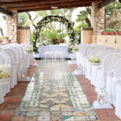 Aeneas' Landing di Gaeta, domenica 22 Wedding Day da favola