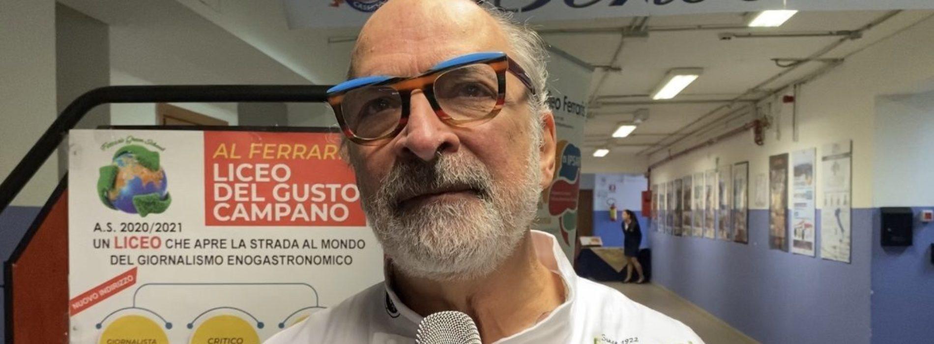 Andy Luotto all'alberghiero Ferraris: I love Caserta