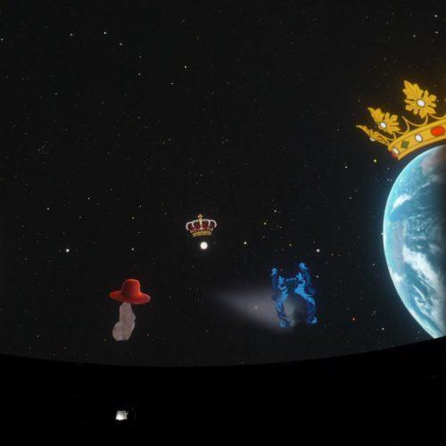 Il re Sole e la sua corte, al Planetario un lungo viaggio spaziale