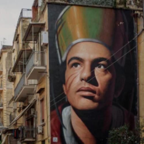 Napoli. Un murales di Jorit per il progetto Codici a Barra