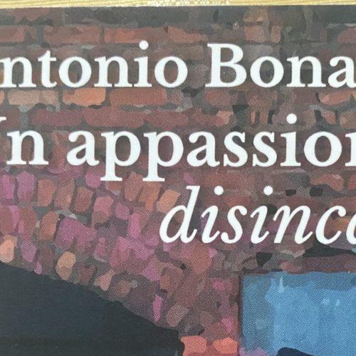 Passione per il disincanto, Antonio Bonagura a Officina Teatro