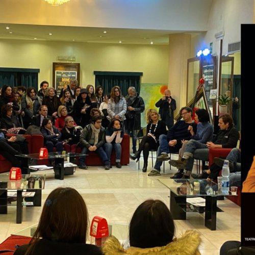 I segreti di Malacrescita, Mimmo Borrelli nel Salotto a Teatro