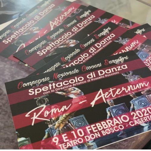 Roma-Aeternum al Teatro Don Bosco. La presentazione di Rossella Rocciola