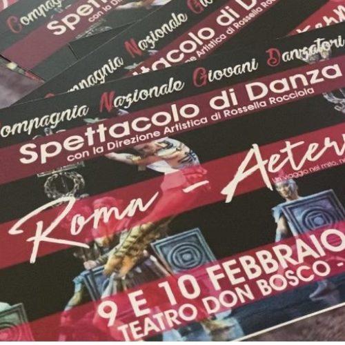 Danza. Rossella Rocciola porta in scena Roma-Aeternum