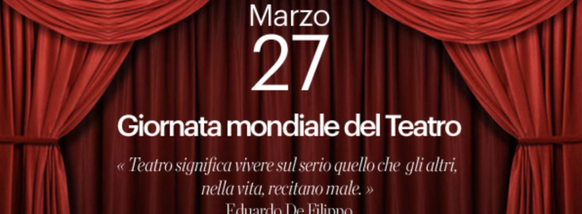 27 marzo. Giornata Mondiale del Teatro ai tempi… di Covid-19