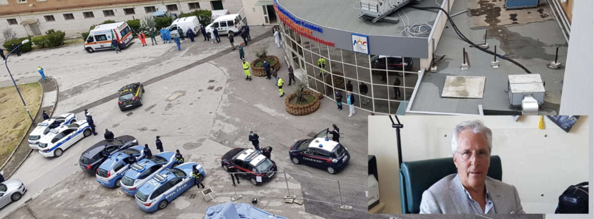 "Ospedale Caserta, Mariano: ""Insieme sconfiggeremo il virus"""