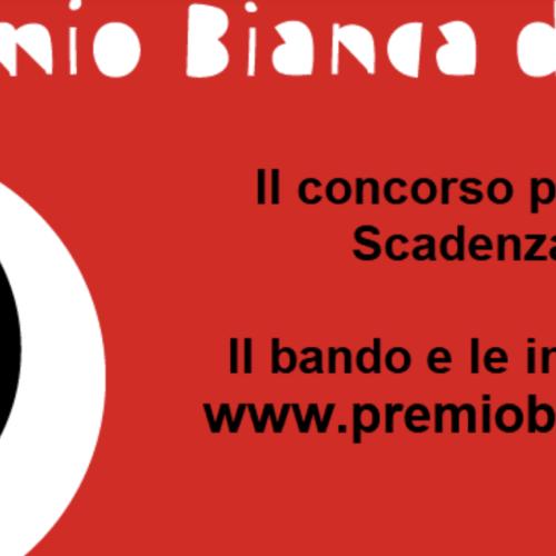 Premio Bianca d'Aponte. Disponibile il bando fino al 28 aprile