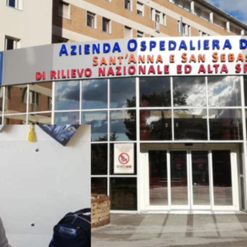 News Aorn Caserta, eseguiti più di 1000 tamponi ai dipendenti