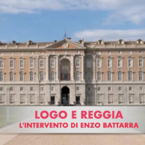 Logo e Reggia. Il critico Enzo Battarra