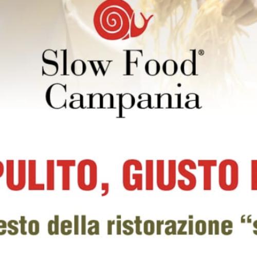 Operazione ristoranti sicuri, manifesto di Slow Food Campania