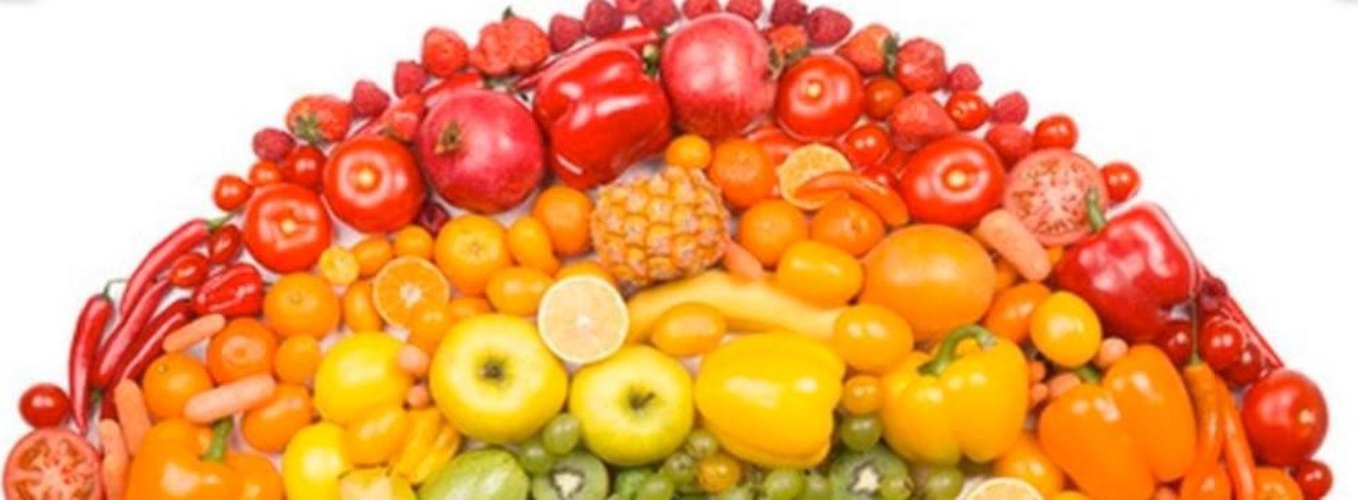 Esplode l'Arcobaleno del Benessere: tutti i colori della sana alimentazione e dell'adeguata attività motoria