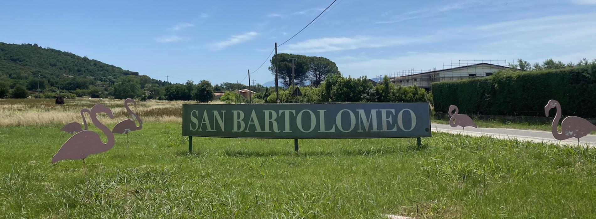 Le Colonne a San Bartolomeo, casa in campagna. La chef Rosanna Marziale