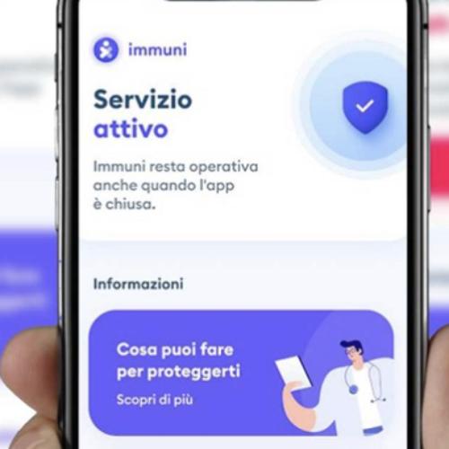 """L'app """"Immuni"""" entra nel vivo, da oggi attiva in tutta Italia"""