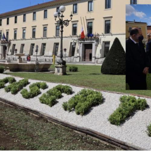 Lions Caserta Vanvitelli, rigenerata la piazza della Prefettura