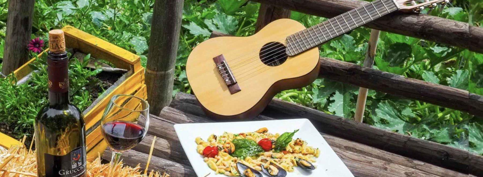 Jazz in vigna, musica, cibo e vino nei Campi Flegrei