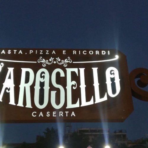 Carosello a Caserta, il ristorante evoca i miti del gusto italiano