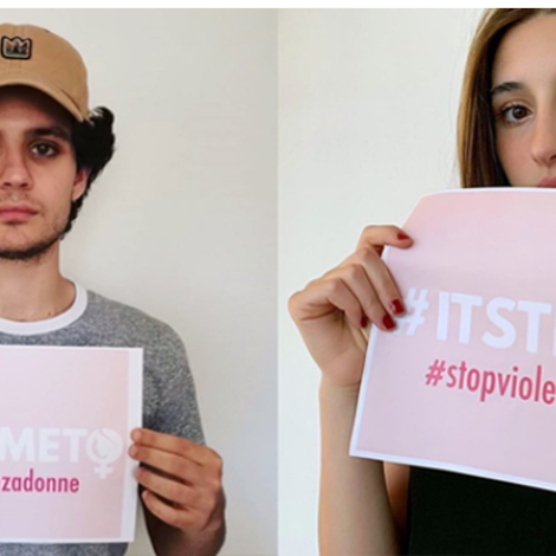 """Its' time to.."", la campagna social #stopviolenzadonne"
