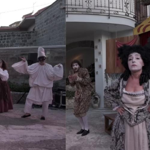 """La Mansarda, a Palazzo Paternò con """"Il Carro dei Comici"""""""