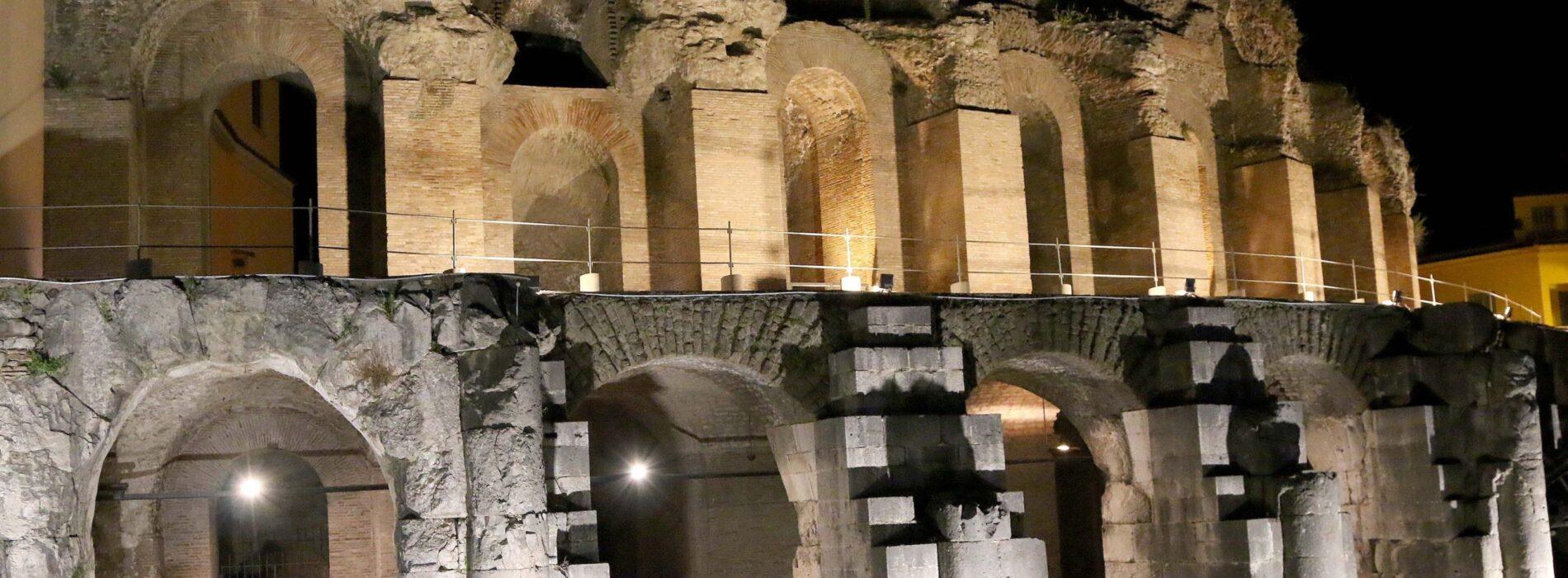 Anfiteatro Campano, apertura straordinaria e spettacoli serali