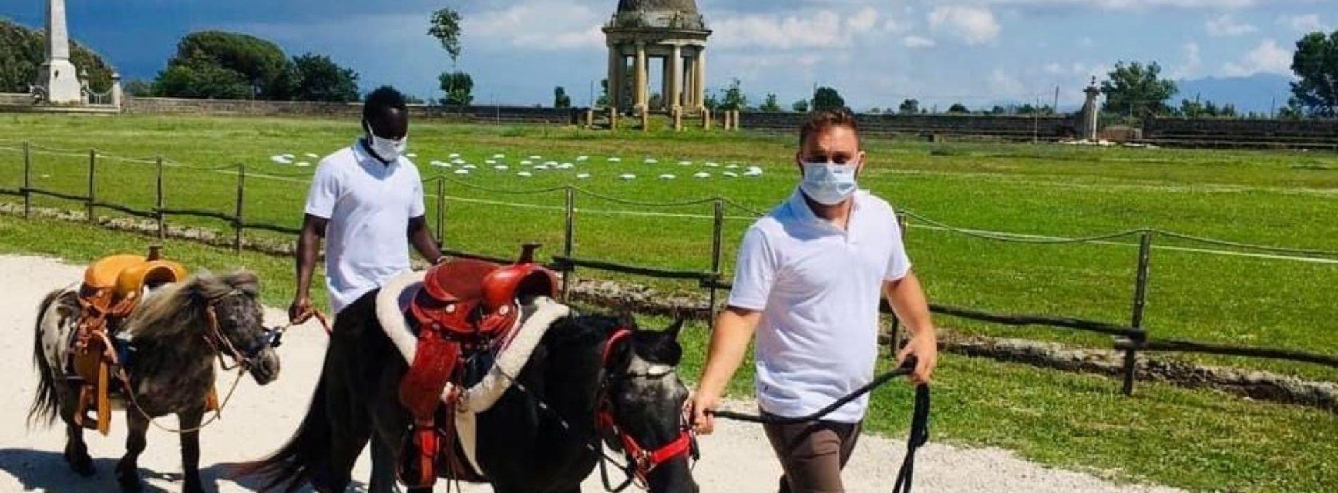 Ferragosto a Carditello, passeggiate sui pony e sosta picnic