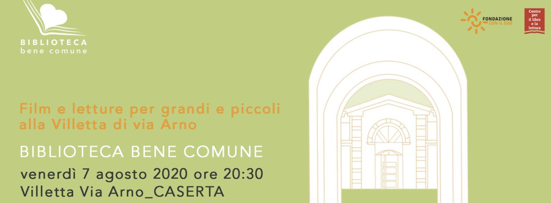 Biblioteca Bene Comune fa tappa nella Villetta di Via Arno
