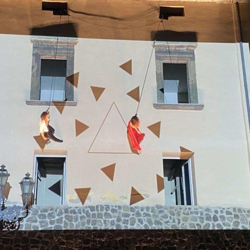 Festa del Casavecchia, la danza verticale conquista il pubblico