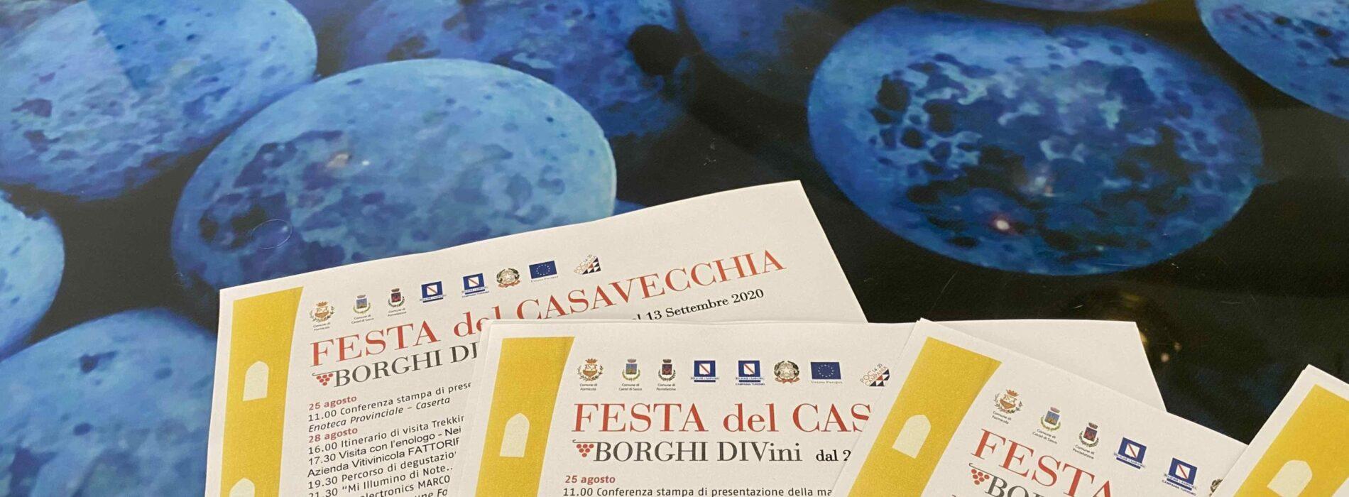 Festa del Casavecchia, secondo weekend a Castel di Sasso