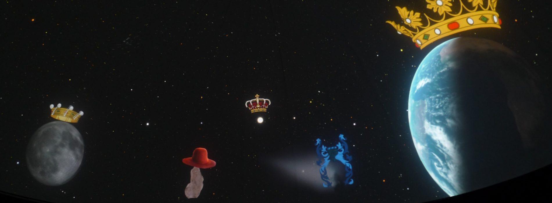 Riapre il Planetario, un Ferragosto spaziale con Re Sole