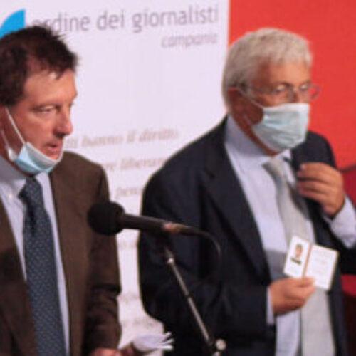 Giancarlo Siani, a 35 anni dall'omicidio il tesserino da giornalista professionista