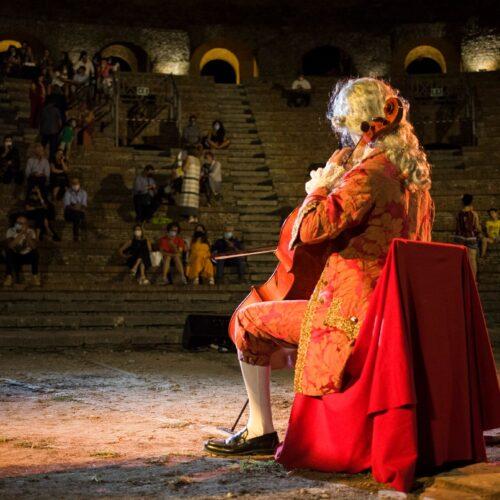 Appuntamento all'Aperia, Rosso Vanvitelliano diventa sinfonia