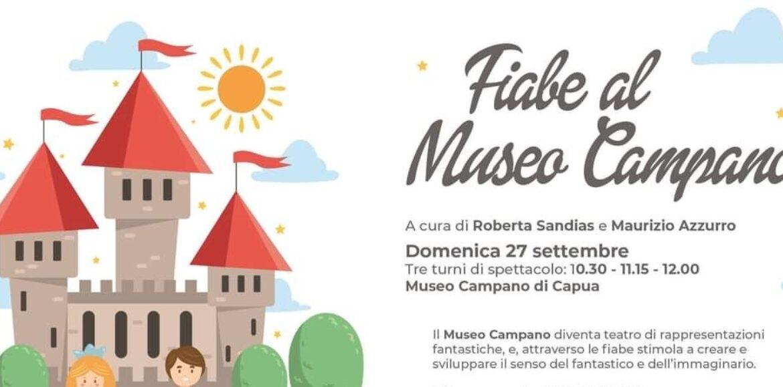 Fiabe al Museo Campano, i bimbi incontrano i personaggi delle favole