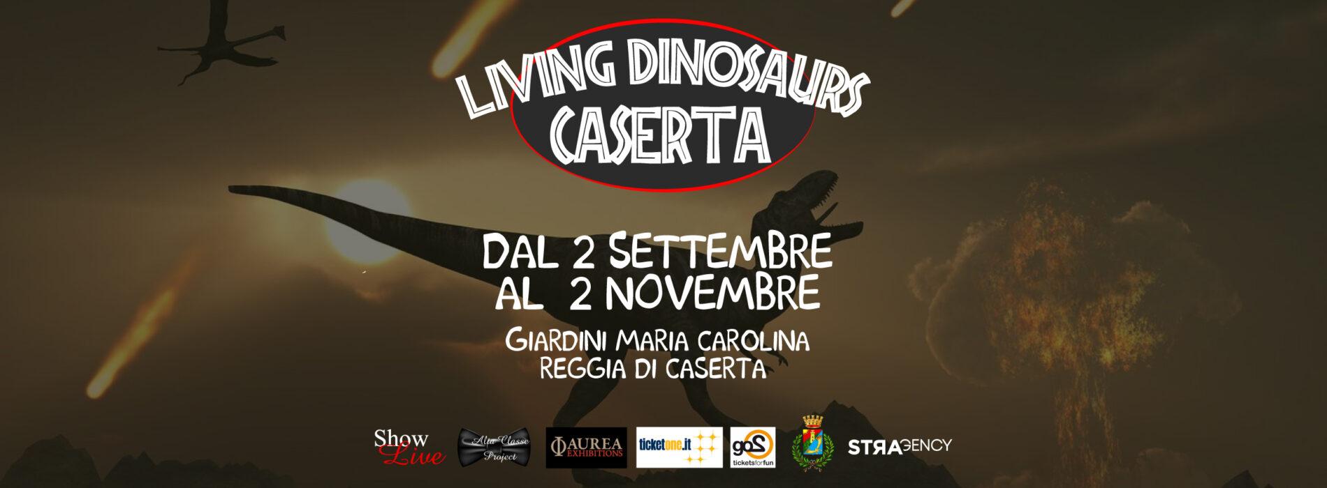 Living Dinosaurs, la mostra al Parco Maria Carolina fino al 2 novembre