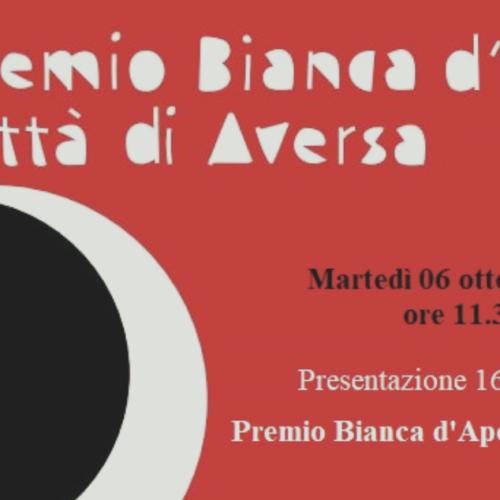 Premio Bianca d'Aponte, la presentazione in videoconferenza