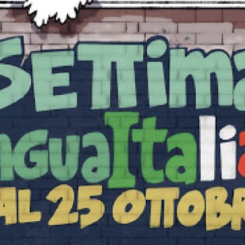 La Lingua italiana nel mondo. Una settimana per celebrarla