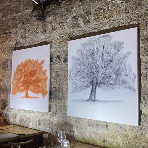 Mostre, Giovanni Tariello pianta il suo albero al Vovo Pacomio