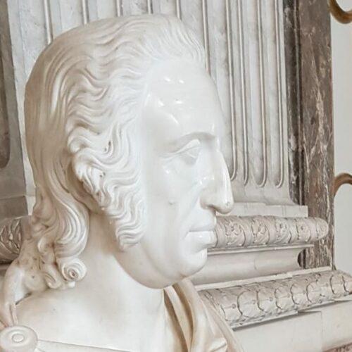 Reggia di Caserta, Ferdinando I di Borbone ritratto dal Canova